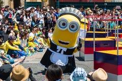 Minions parade show Stock Photo