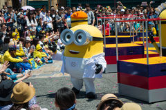 Minions parade show Stock Images