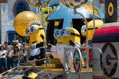 Minions parade show Royalty Free Stock Photo