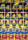 Minions in Santa Monica Pier royalty-vrije stock afbeelding