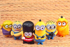 Minions Toy stock photography