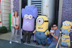 Minions at Universal Studios Hollywood Stock Photos