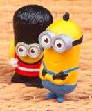 Minionsstuk speelgoed Stock Fotografie