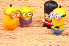 Minionsstuk speelgoed Royalty-vrije Stock Afbeelding