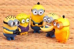 Minionsstuk speelgoed stock afbeeldingen