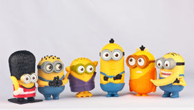 Minionsstuk speelgoed Stock Foto