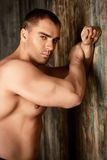 Mięśniowy man& x27; Zdjęcie Royalty Free