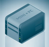 miniPC stock illustrationer