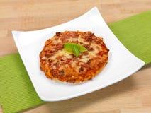 Minipizzas Stockbild
