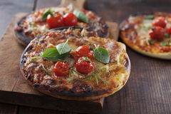 Minipizzas Lizenzfreie Stockfotografie