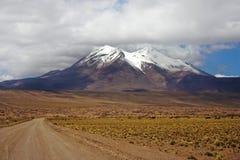 miniques火山 库存照片