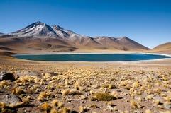 Miniques laguna - Chile Zdjęcie Stock