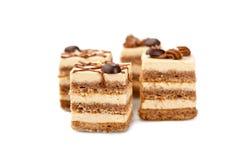 Minischokoladen-Kuchen lizenzfreie stockbilder