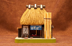MiniSoba Nudel-Haus Lizenzfreies Stockbild