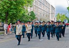 Ministère biélorusse de l'orchestre de la défense Photographie stock libre de droits