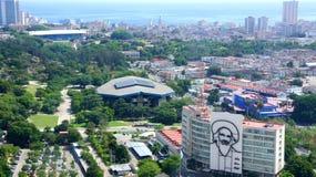 Ministère de culture à La Havane Photos stock
