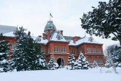 Ministère de neige Images stock