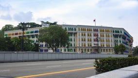 Ministère de Singapour des communications et de l'information Photographie stock libre de droits