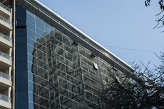 Ministère du bâtiment de développement social Photo stock