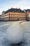 Ministério das Finanças de Copenhaga fotografia de stock