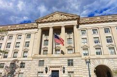 Ministério de Comércio em Herbert Hoover Building foto de stock