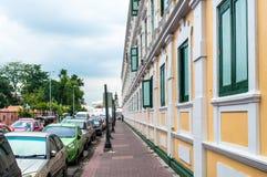 Ministério de defesa em Banguecoque, Tailândia Fotografia de Stock Royalty Free