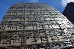 Minist?rio da Cultura e comunica??o, close up da fachada Paris, Fran?a, o 12 de agosto de 2018 fotografia de stock