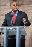 Minister av medborgarskap och invandring Michael Coteau royaltyfria bilder