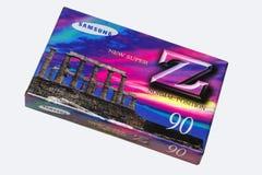 minister Białoruś Styczeń 22, 2019 Audio kaseta w oryginału pakować wpisowy Samsung je odosobnionego na białym tle obraz royalty free