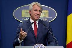 Minister der Regierung von Rumänien stockbilder