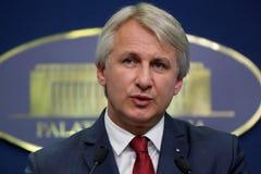 Minister der Regierung von Rumänien lizenzfreie stockfotos