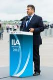 Minister dla spraw gospodarczych i Energetyczny Sigmar Gabriel Obrazy Royalty Free