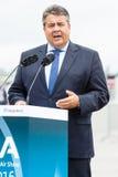Minister dla spraw gospodarczych i energii, Sigmar Gabriel Obrazy Royalty Free