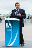Minister dla spraw gospodarczych i energii, Sigmar Gabriel Zdjęcie Stock