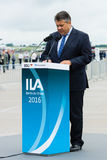 Minister dla spraw gospodarczych i energii, Sigmar Gabriel Zdjęcie Royalty Free