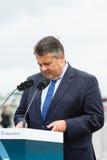 Minister dla spraw gospodarczych i energii, Sigmar Gabriel Zdjęcia Royalty Free