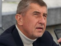 Minister of Finance of Czech republic Andrej Babis Royalty Free Stock Photography