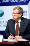 Minister of finance Kudrin Stock Photos