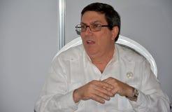 Minister of Foreign Affairs of Cuba, Bruno Eduardo Rodriguez Parrilla Stock Image
