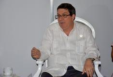 Minister of Foreign Affairs of Cuba, Bruno Eduardo Rodriguez Parrilla Stock Photo