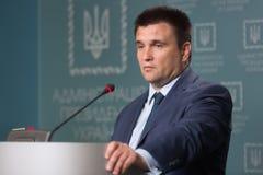 Minister of Foreign Affairs of Ukraine Pavlo Klimkin Royalty Free Stock Images