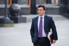 Minister of Foreign Affairs of Ukraine Pavlo Klimkin Stock Photography