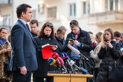Minister of Foreign Affairs of Ukraine Pavlo Klimkin Royalty Free Stock Photo