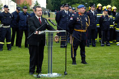 Minister and Minister of the Interior Ivica Dacic Royalty Free Stock Photography