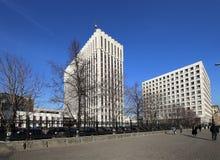 Minister Sprawiedliwości federacja rosyjska (Ja napisze w rosjaninie) Zhitnaya St 14, Moskwa zdjęcie royalty free