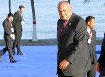 Minister van Buitenlandse zaken van Egypte Sameh Hassan Shoukry Stock Foto's