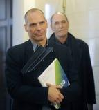 Minister van Financiën Yanis Varoufakis Royalty-vrije Stock Fotografie