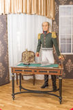 Minister of War Barclay de Tolly (mannequin) Royalty Free Stock Image