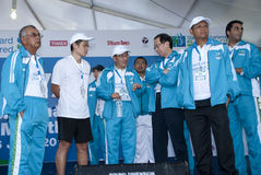 Minister of Youth and Sports M on KL Marathon 2011 Stock Image