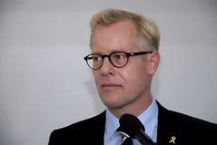 MINISTER ZMIENIA PRZY ministerstwem obrony Fotografia Stock